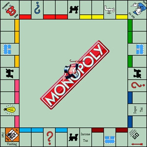 Au Monopoly, combien la banque vous verse-t-elle quand vous passez par la  case départ  ? (en francs)