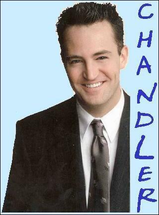 Le vrai nom de Chandler est Chandler M. Bing, à quoi correspond le M ?