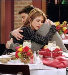 Où Rachel et Joey se sont-ils embrassés pour la première fois ?