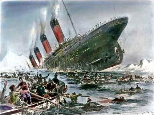 Combien d'hommes sont morts durant le naufrage (le pourcentage) ?
