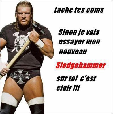 Triple H a été champion...