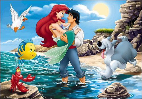 Quizz la petite sir ne quiz petite sirene - Jeux de ariel et son prince ...