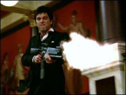 Il ne faut pas venir énerver Tony Montana (Al Pacino) chez lui. Quel est le titre de ce film de 1983 ?
