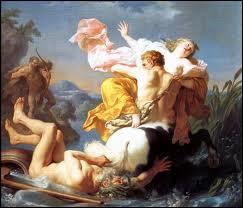 Épouse d'Héraclès, le centaure Nessus tente de me violenter. La tunique que Nessus m'a offerte est empoisonnée à mon insu, lorsque J'en revêts Héraclès celui-ci meurt et je me suicide. Je suis :