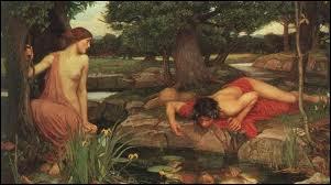 Je suis une nymphe bavarde. Héra m'a punie :  j'aurai toujours le dernier mot, mais jamais je ne parlerai la première . Je suis amoureuse de Narcisse sans espoir. Je suis :