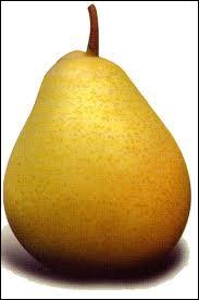 Comment appelle-t-on une poire en espagnol ?