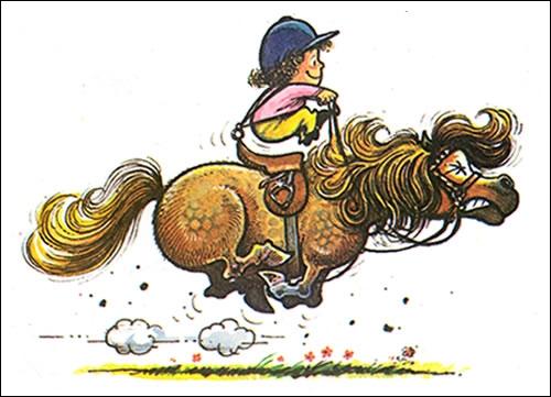 Au moment de monter à cheval, tu te rappelles qu'il faut ressangler la selle, mais tu ne te rappelles plus de quel côté le faire. D'après toi, lequel ? (2 réponses possibles)