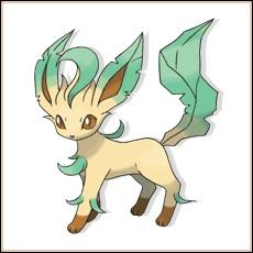 Phyllali est un Pokémon de type Plante :