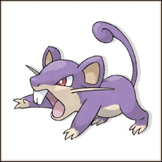 Rattata se dit «Koratta» en allemand :