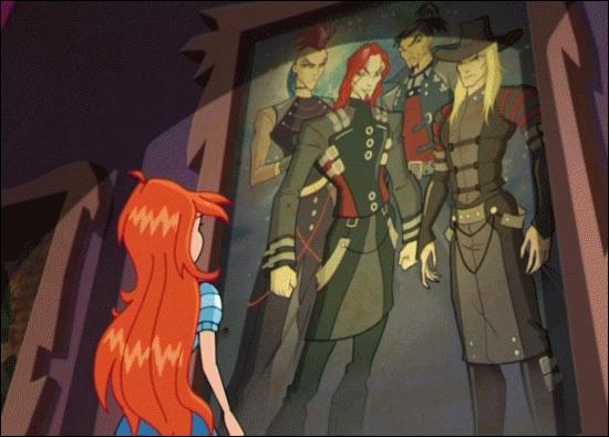 Les ennemis des Winx dans la saison 4 sont les sorciers du Cercle Blanc :
