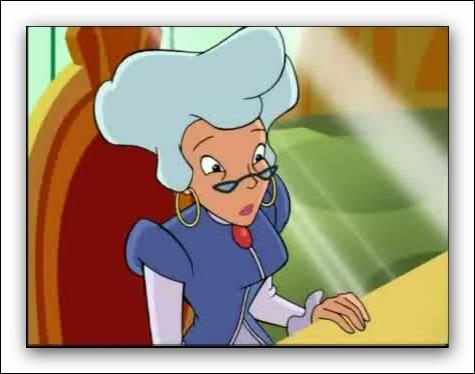 La directrice d'Alféa est Madame Faragonda :