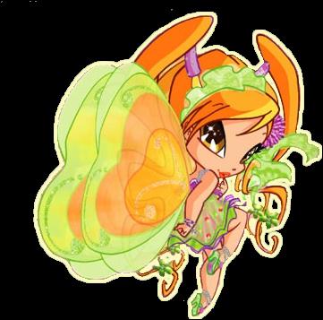 La Pixie de Flora est Chatta :