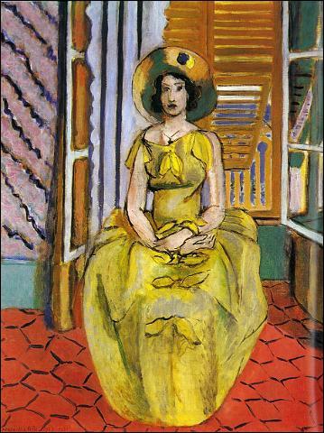 La robe jaune, 1929-1931