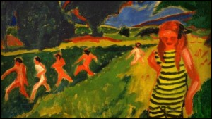Le Maillot jaune et noir, 1909