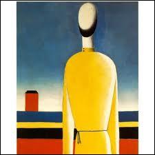 Figure à la tunique jaune