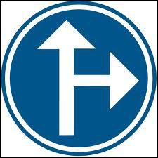 En signalisation routière, les panneaux ronds, bleus et cerclés de blanc sont des panneaux dits...