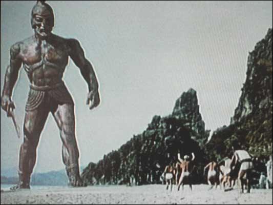 Comment se nomme le géant-robot créé par Héphaïstos que Jason et les Argonautes ont dû affronter ?