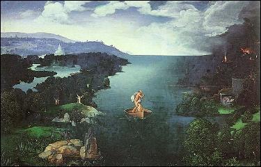Aux Enfers, le royaume des morts gouverné par Hadès, comment se nomme le passeur qui transporte les âmes des morts sur sa barque ?