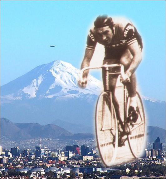 Le 25 octobre, le champion cycliste belge Eddy Merckx bat le record du Monde de l'heure . Où se situait le vélodrome sur lequel il a atteint les 49, 432 Km/heure ?