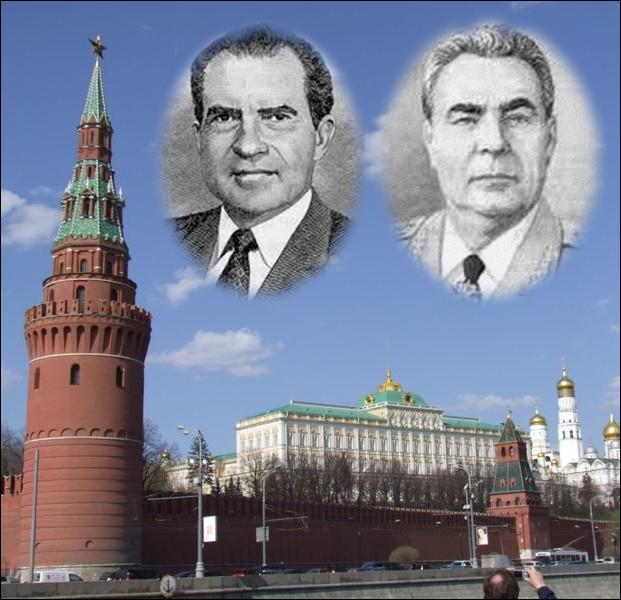Quel président américain signe le 26 mai à Moscou avec Léonid Brejnev les accords SALT 1 (Limitation des armements stratégiques) ?