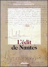 Vous souvenez-vous de la date de la révocation de l'édit de Nantes ?