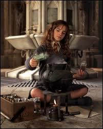 Dans quel film, voit-on Hermione préparer cette potion ?