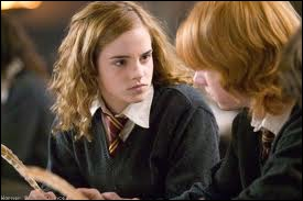 Dans quel film voit-on Hermione ainsi ?