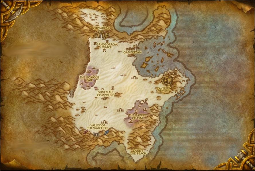 Cette région, montrée sur la carte ci-dessous, se situe dans