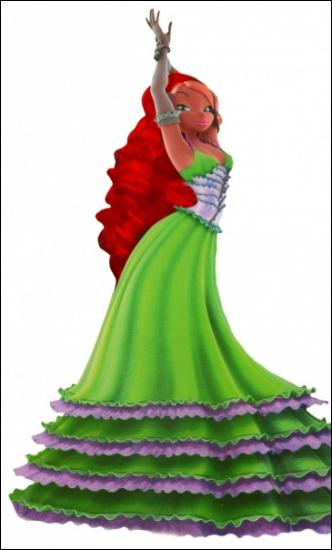Layla est la princesse d'Océana.