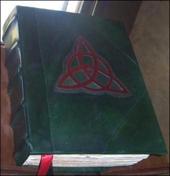 Dans quelle série  Le Livre des Ombres  est-il un objet culte ?