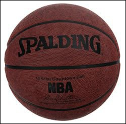 Dans quelle série le ballon de basket est-il un objet culte ?