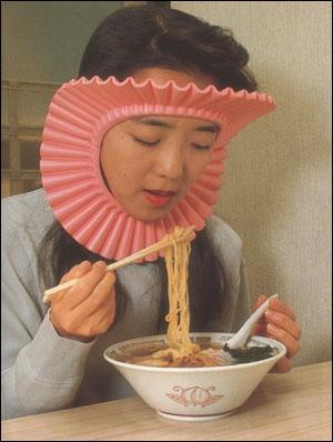 Cette jeune fille japonaise porte une sorte d'auréole autour du visage de façon tout à fait volontaire. Pourquoi ?