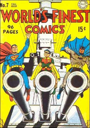 Cette couverture de magazine de BD de super-héros, destiné aux enfants et ados, est un peu, voire nettement... ?