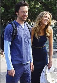 Quel est ce nom de ce couple dans Scrubs ?