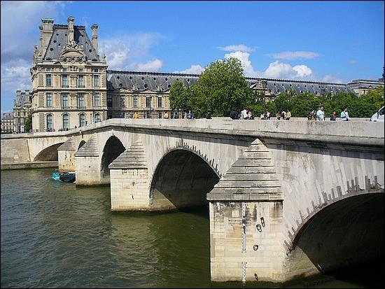 Quel est le nom de ce pont parisien ?
