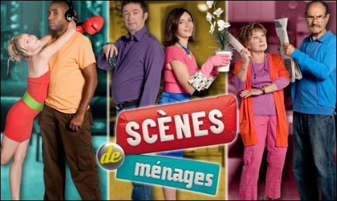 'Scènes de ménages' passe sur M6.