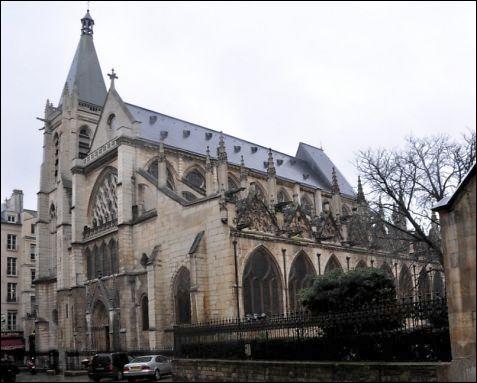 Comment s'appelle cette église de la capitale française ?