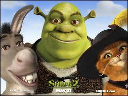 Dans la saga  Shrek , qui dit  Oh, t'as eu un chiot toi ? Moi j'ai eu que du shampoing dans ma chambre !   ?