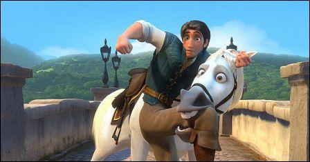 Comment s'appelle le cheval blanc ?