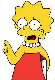 De quel instrument de musique Lisa joue-t-elle ?
