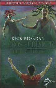 Quel est le titre du 2ème tome de Héros de l'Olympe ? Et le 3ème ?