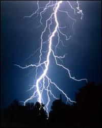 Dans le tome 1, quel dieu ou déesse donne l'éclair de Zeus à Percy sans qu'il s'en aperçoive ?