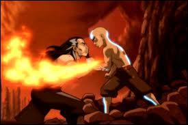 Que fait l'Avatar lorsqu'il a battu le seigneur de Feu ?