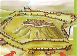 Après de longs et durs combats, les Romains parviennent à tenir leurs positions et à mettre en déroute l'armée de secours qui se disperse en désordre. Démoralisés et à court de vivres, les Gaulois décident de se rendre. Combien de temps a duré le siège ?