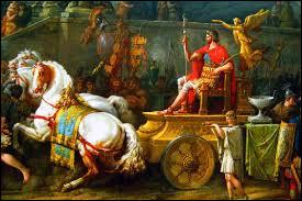 A son retour triomphal à Rome en -46, Jules César exhibera Vercingétorix comme un trophée de guerre, enchaîné derrière son char. Comment sera-t-il exécuté ?