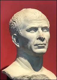Quel proconsul romain a mené la guerre des Gaules de 58 à 50 av.JC ?