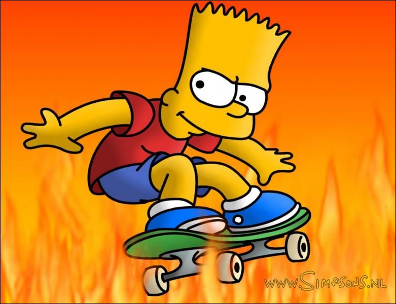 Combien de piques Bart a-t-il sur sa tête ?