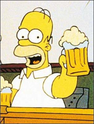 Quel est le plat préféré de Homer ?