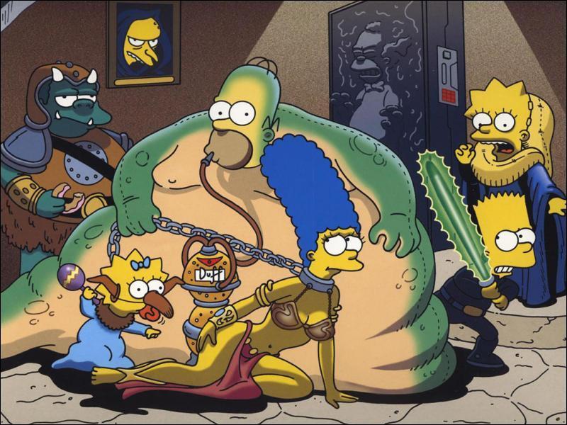 De quelle couleur sont les Simpson ?