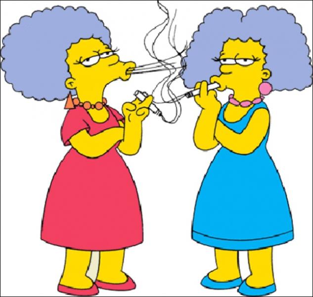 Quels sont les prénoms des soeurs de Marge ?